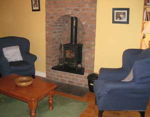Relaxing country style interiors feature in the Self Catering Holiday Homes at Blanchville Coachyard : just minutes from Kilkenny these Holiday Homes are ideal for a weekend or longer holiday break in Kilkenny