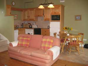 Relaxing country style interiors feature in the Self Catering Holiday Rentals at Blanchville Coachyard : just minutes from Kilkenny these Self Catering Rentals are ideal for a weekend or longer holiday break in Kilkenny